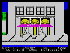 Ghostbusters ZX Spectrum 21
