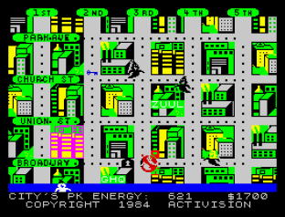 Ghostbusters ZX Spectrum 31