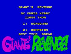 Giant's Revenge ZX Spectrum 27