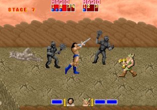 Golden Axe Arcade 100