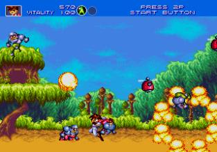 Gunstar Heroes Megadrive 009