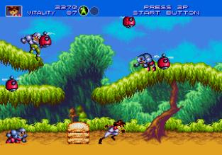 Gunstar Heroes Megadrive 012