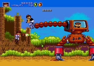 Gunstar Heroes Megadrive 045