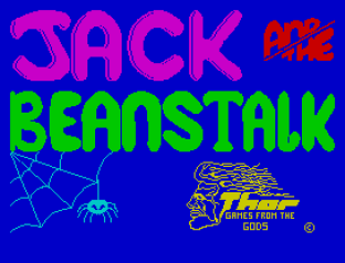 Jack and the Beanstalk ZX Spectrum 01