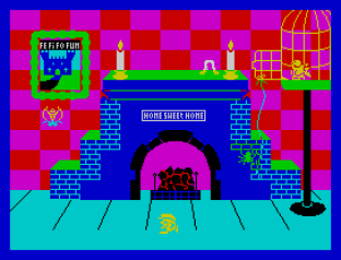 Jack and the Beanstalk ZX Spectrum 09