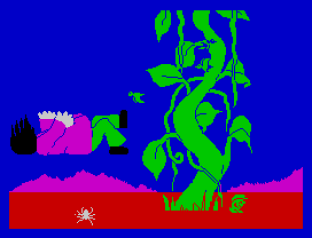 Jack and the Beanstalk ZX Spectrum 20