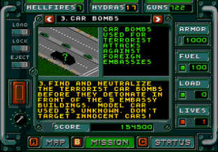Jungle Strike Megadrive 042