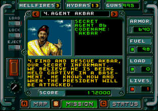Jungle Strike Megadrive 045