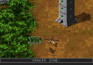 Jungle Strike Megadrive 119