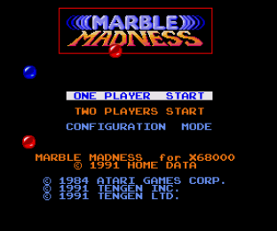 Marble Madness X68000 01