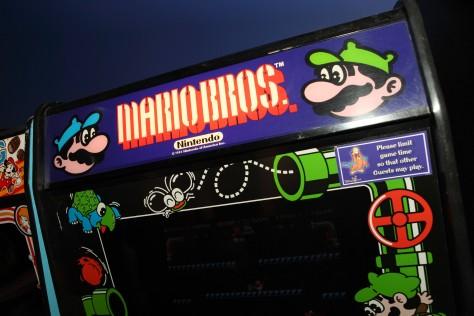 Mario Bros arcade decals