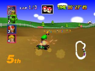 Mario Kart 64 Nintendo 64 017