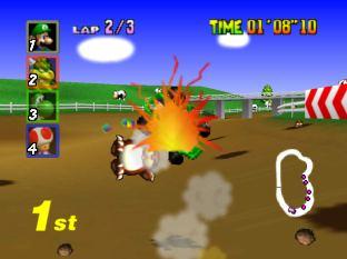 Mario Kart 64 Nintendo 64 022