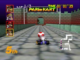 Mario Kart 64 Nintendo 64 130