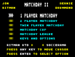Match Day 2 ZX Spectrum 02