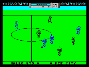 Match Day 2 ZX Spectrum 09
