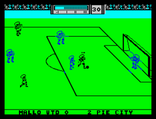 Match Day 2 ZX Spectrum 12