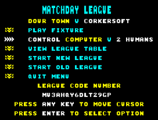 Match Day 2 ZX Spectrum 31