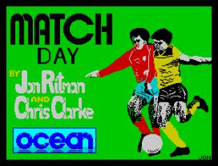 Match Day ZX Spectrum 01