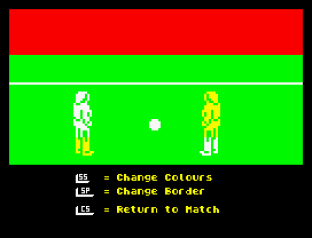 Match Day ZX Spectrum 09