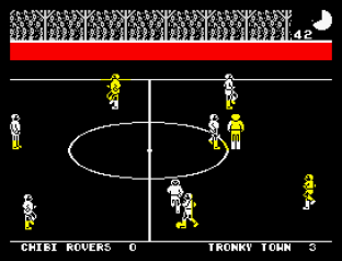 Match Day ZX Spectrum 20
