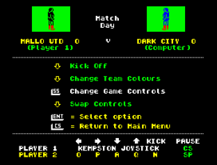 Match Day ZX Spectrum 34