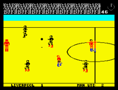 Match Day ZX Spectrum 44