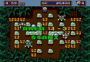 Mega Bomberman Megadrive 020