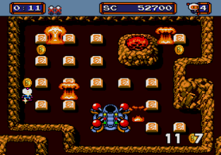 Mega Bomberman Megadrive 053