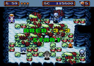 Mega Bomberman Megadrive 100