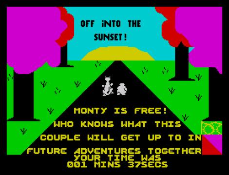 Monty Is Innocent ZX Specrum 23