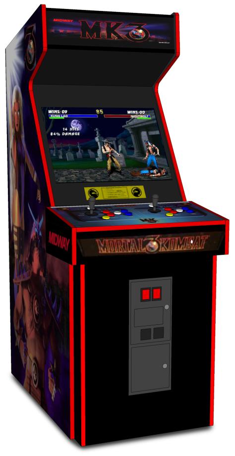 Mortal Kombat 3 Arcade Cabinet 1