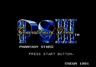 Phantasy Star 3 Megadrive 001