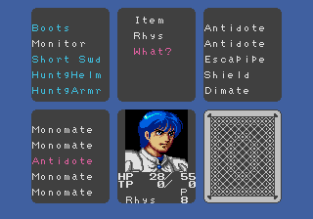 Phantasy Star 3 Megadrive 075