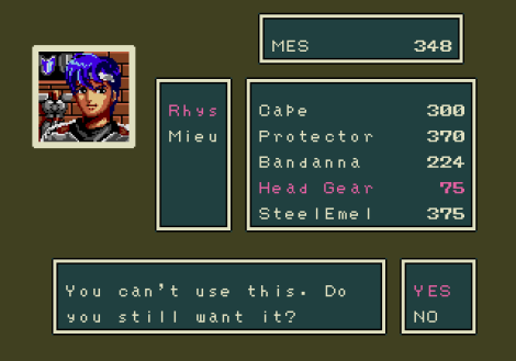 Phantasy Star 3 Megadrive 122