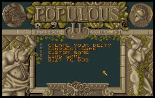 Populous 2 Amiga 01