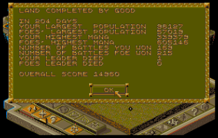 Populous 2 Amiga 12