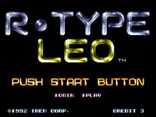 R-Type Leo Arcade 001