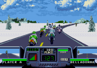 Road Rash 3 Megadrive 042