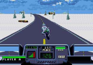 Road Rash 3 Megadrive 045