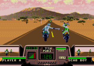 Road Rash 3 Megadrive 078