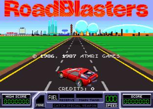 RoadBlasters Arcade 01