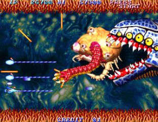 Salamander 2 Arcade 020