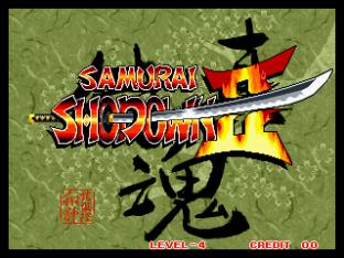 Samurai Shodown 2 Neo Geo 001