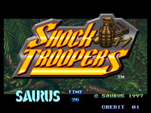 Shock Troopers Neo Geo 001