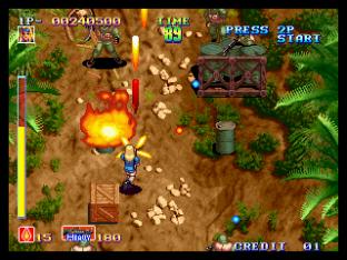 Shock Troopers Neo Geo 009