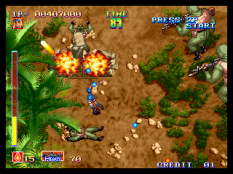 Shock Troopers Neo Geo 011
