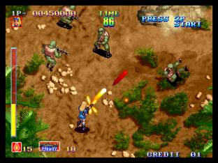 Shock Troopers Neo Geo 012