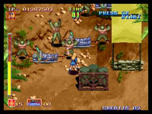 Shock Troopers Neo Geo 031