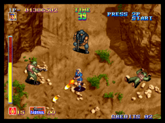 Shock Troopers Neo Geo 032